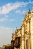 Καθεδρικός ναός στη Λίμα, Περού. Παλαιά εκκλησία στη Νότια Αμερική, που χτίζεται το 1540. Plaza de Armas του Arequipa είναι ενός p Στοκ Εικόνες
