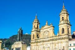 Καθεδρικός ναός στη Μπογκοτά, Κολομβία Στοκ φωτογραφία με δικαίωμα ελεύθερης χρήσης