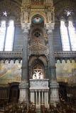Καθεδρικός ναός στο κέντρο της πόλης στη Λυών, Γαλλία Στοκ Εικόνες