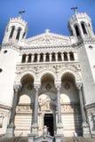 Καθεδρικός ναός στο κέντρο της πόλης στη Λυών, Γαλλία Στοκ Εικόνα