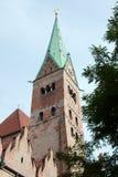 Καθεδρικός ναός στο κέντρο του Άουγκσμπουργκ Στοκ φωτογραφίες με δικαίωμα ελεύθερης χρήσης