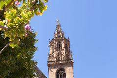 Καθεδρικός ναός στο νότιο Tirol Ιταλία του Μπολτζάνο Στοκ Εικόνες