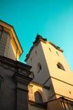 Καθεδρικός ναός στο clearsky υπόβαθρο Στοκ Φωτογραφίες