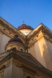 Καθεδρικός ναός στο clearsky υπόβαθρο Στοκ εικόνα με δικαίωμα ελεύθερης χρήσης