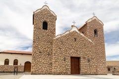 Καθεδρικός ναός στο San Antonio de Los Cobres, Αργεντινή Στοκ εικόνες με δικαίωμα ελεύθερης χρήσης