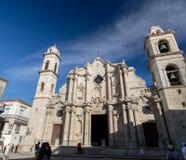 Καθεδρικός ναός της Αβάνας στην παλαιά Αβάνα, Κούβα Στοκ Εικόνες