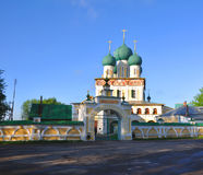 Καθεδρικός ναός της αναζοωγόνησης Χριστού Tutaev, Ρωσία Στοκ Φωτογραφία
