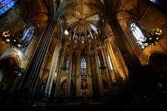 Καθεδρικός ναός της Βαρκελώνης, Βαρκελώνη Στοκ Εικόνες