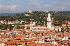 Καθεδρικός ναός της Βερόνα, βόρεια Ιταλία Στοκ εικόνες με δικαίωμα ελεύθερης χρήσης