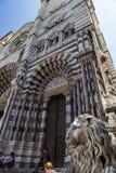 Καθεδρικός ναός της Γένοβας στην Ιταλία Στοκ Φωτογραφία