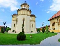 Καθεδρικός ναός της ενότητας των ανθρώπων - Alba Iulia Στοκ Εικόνα