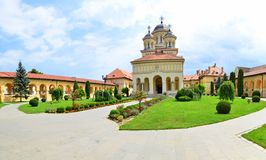 Καθεδρικός ναός της ενότητας των ανθρώπων - Alba Iulia Στοκ εικόνες με δικαίωμα ελεύθερης χρήσης