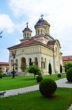 Καθεδρικός ναός της ενότητας των ανθρώπων - Alba Iulia Στοκ Εικόνες
