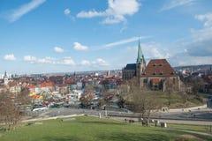 Καθεδρικός ναός της Ερφούρτης, Γερμανία #2 Στοκ Φωτογραφίες