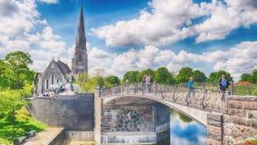 Καθεδρικός ναός της Κοπεγχάγης, Δανία Στοκ Φωτογραφίες