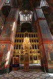 Καθεδρικός ναός της κυρίας Σμολένσκ μας μονή novodevichiy Στοκ Φωτογραφία