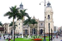 Καθεδρικός ναός της Λίμα, Περού, Νότια Αμερική Στοκ φωτογραφίες με δικαίωμα ελεύθερης χρήσης