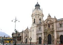 καθεδρικός ναός της Λίμα Περού Στοκ εικόνα με δικαίωμα ελεύθερης χρήσης