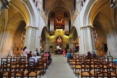 Καθεδρικός ναός της Λωζάνης Στοκ εικόνα με δικαίωμα ελεύθερης χρήσης