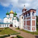 Καθεδρικός ναός της μεταμόρφωσης του λυτρωτή, μοναστήρι Αγίου Στοκ εικόνες με δικαίωμα ελεύθερης χρήσης