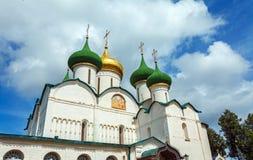 Καθεδρικός ναός της μεταμόρφωσης του λυτρωτή, μοναστήρι Αγίου Στοκ Εικόνες