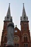 Καθεδρικός ναός της Νοτρ Νταμ, Saigon Στοκ φωτογραφία με δικαίωμα ελεύθερης χρήσης