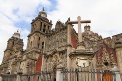 Καθεδρικός ναός της Πόλης του Μεξικού VI Στοκ Φωτογραφίες