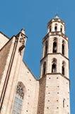 Καθεδρικός ναός της Σάντα Μαρία del Mar Στοκ εικόνες με δικαίωμα ελεύθερης χρήσης