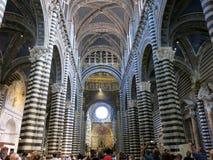 Καθεδρικός ναός της Σιένα, Ιταλία Στοκ φωτογραφία με δικαίωμα ελεύθερης χρήσης