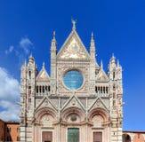 Καθεδρικός ναός της Σιένα, Di Σιένα Duomo στη Σιένα, Ιταλία, περιοχή της Τοσκάνης Στοκ Φωτογραφίες