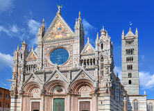 Καθεδρικός ναός της Σιένα, Di Σιένα Duomo στη Σιένα, Ιταλία, περιοχή της Τοσκάνης Στοκ εικόνα με δικαίωμα ελεύθερης χρήσης
