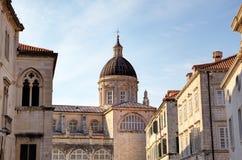 Καθεδρικός ναός της υπόθεσης της Virgin Mary. Στοκ Εικόνα