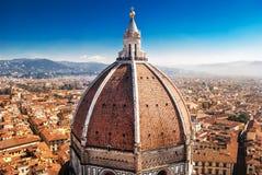 Καθεδρικός ναός της Φλωρεντίας, Brunelleschi Στοκ Εικόνα