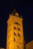 Καθεδρικός ναός της Alba στο βράδυ Στοκ Φωτογραφία
