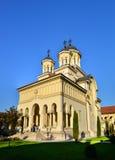Καθεδρικός ναός της Alba Iulia Στοκ εικόνες με δικαίωμα ελεύθερης χρήσης