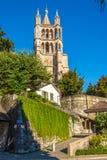 Καθεδρικός ναός της Notre Dame στη Λωζάνη Στοκ φωτογραφίες με δικαίωμα ελεύθερης χρήσης
