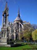 Καθεδρικός ναός της Notre Dame του Παρισιού, Γαλλία Στοκ Εικόνες