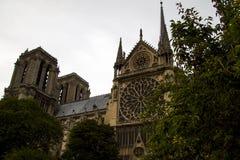Καθεδρικός ναός της Notre Dame το τεμάχιο Στοκ Εικόνες