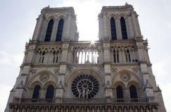 Καθεδρικός ναός της Notre Dame Στοκ εικόνα με δικαίωμα ελεύθερης χρήσης