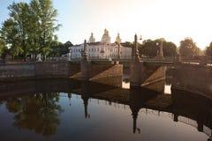 Καθεδρικός ναός του Άγιου Βασίλη στη Αγία Πετρούπολη, Ρωσία Στοκ Εικόνες