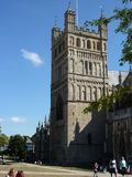 Καθεδρικός ναός του Έξετερ στοκ φωτογραφίες με δικαίωμα ελεύθερης χρήσης