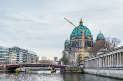 Καθεδρικός ναός του Βερολίνου και νησί μουσείων στο Βερολίνο Στοκ Φωτογραφίες