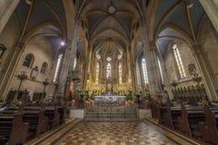 Καθεδρικός ναός του Ζάγκρεμπ Στοκ φωτογραφίες με δικαίωμα ελεύθερης χρήσης