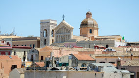 Καθεδρικός ναός του Κάλιαρι, Σαρδηνία, Ιταλία Στοκ Φωτογραφίες