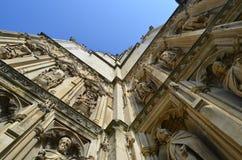 Καθεδρικός ναός του Καντέρμπουρυ. Στοκ Εικόνες
