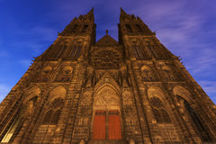 Καθεδρικός ναός του Κλερμόν-Φερράν Στοκ φωτογραφία με δικαίωμα ελεύθερης χρήσης