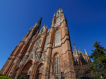 Καθεδρικός ναός του Λα Plata, Αργεντινή Στοκ εικόνες με δικαίωμα ελεύθερης χρήσης