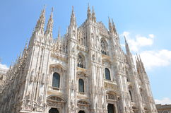 Καθεδρικός ναός του Μιλάνου - Duomo στοκ εικόνα