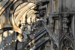 Καθεδρικός ναός του Μιλάνου Στοκ εικόνες με δικαίωμα ελεύθερης χρήσης