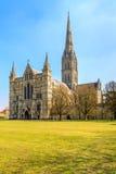 Καθεδρικός ναός του Σαλίσμπερυ Στοκ Εικόνα